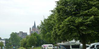Uferstreifen des Campingplatzes in Limburg an der Lahn. | Neues Limburg