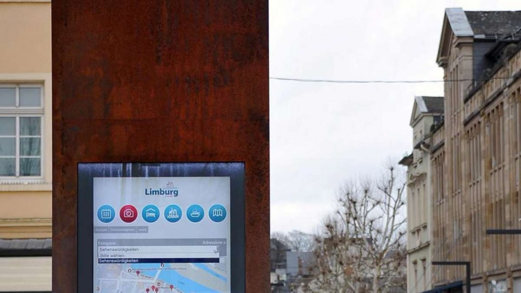 Das Ende naht: Info-Stelen in Limburg sind bald Geschichte! | Neues Limburg