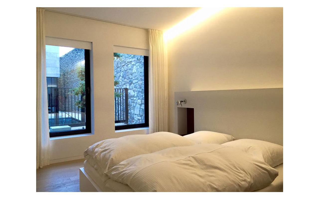 Das Schlafzimmer in Gästebereich - Bild 1. © Lilly Moments