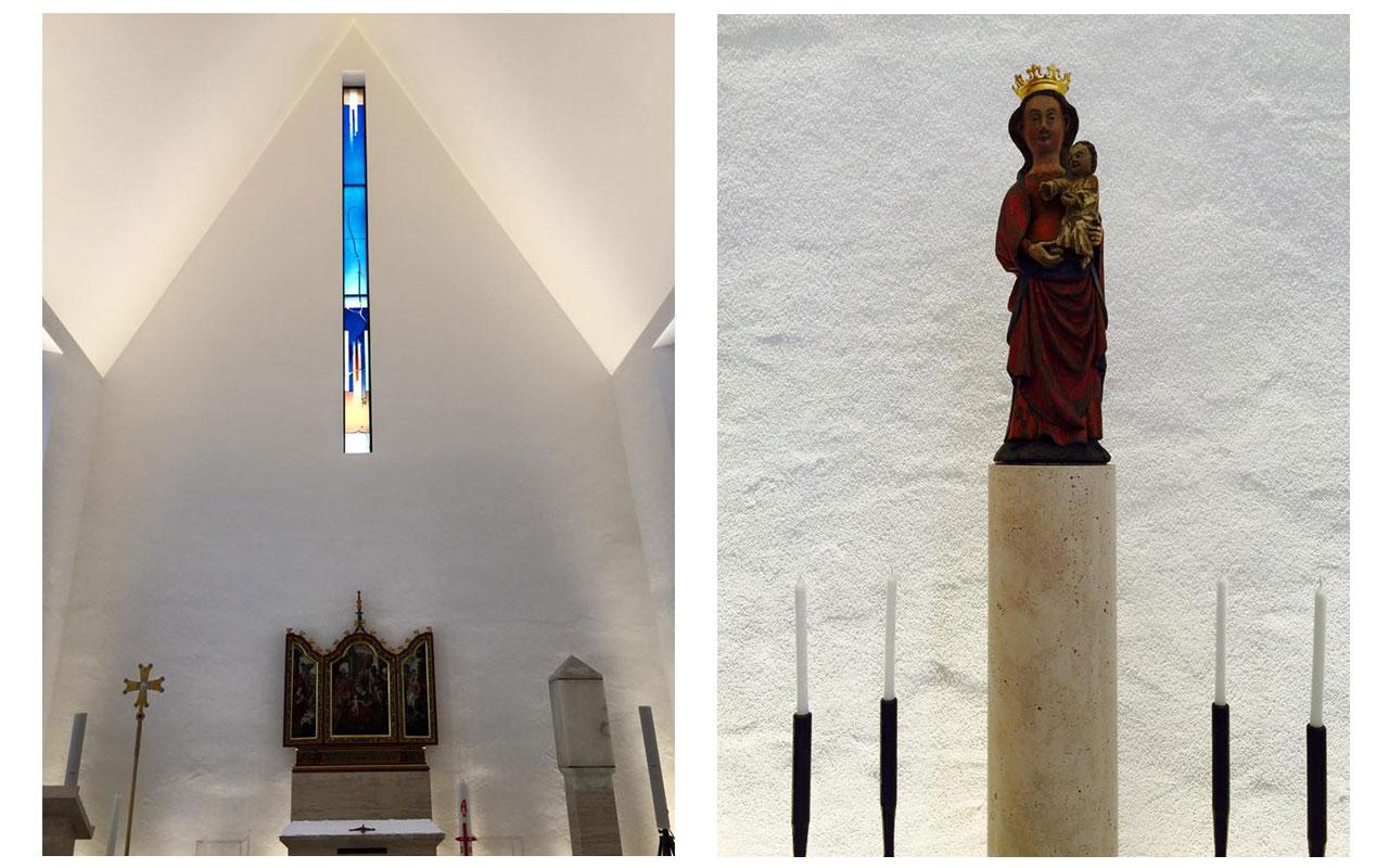Private Kapelle des Bischofs - Bild 1. So war es zumindest ursprünglich geplant. © Lilly Moments