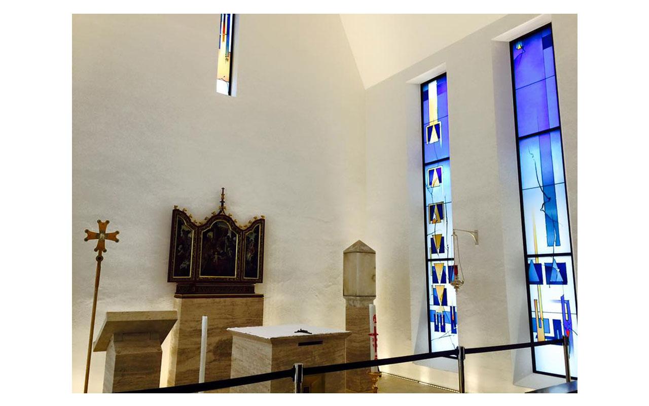 Private Kapelle des Bischofs - Bild 3. So war es zumindest ursprünglich geplant. © Lilly Moments