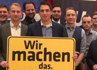 Angermaier ist neuer Kreisvorsitzender der Jungen Union Limburg-Weilburg. © Junge Union Limburg-Weilburg