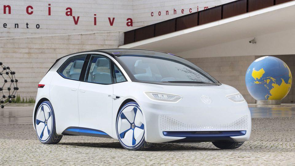 Als erster kompakter Volkswagen setzt sich der I.D. der ID. Familie aus dem neu entwickelten modularen Elektrifizierungsbaukasten, kurz MEB, zusammen. © Volkswagen 2019