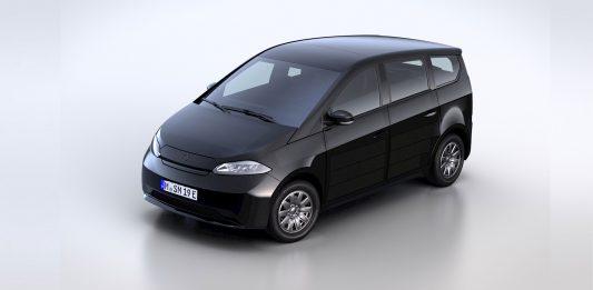 Das Serien-Design des Sion von Sono Motors steht fest. Hier die Frontansicht des Solar-E-Autos. © Sono Motors
