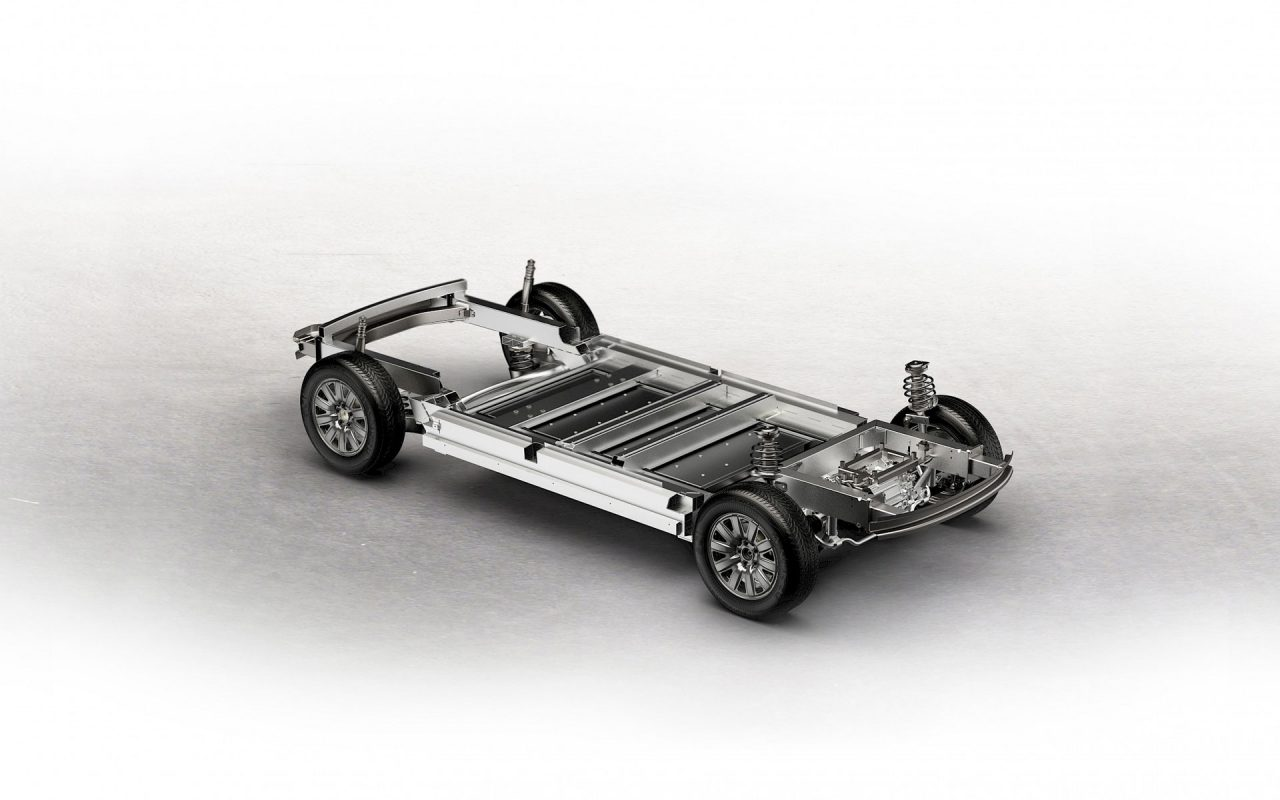 Wir haben eine Plattform für zukünftige Fahrzeuge entwickelt. Variable Batteriekapazität. 120kW Elektromotor. Entwickelt, um flexibel und hoch skalierbar zu sein. © Sono Motors