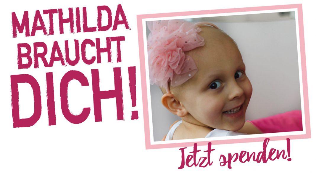 #TeamMathilda braucht dich! Jetzt spenden und Mathilda, das Kämpfermädchen, helfen. | Neues Limburg