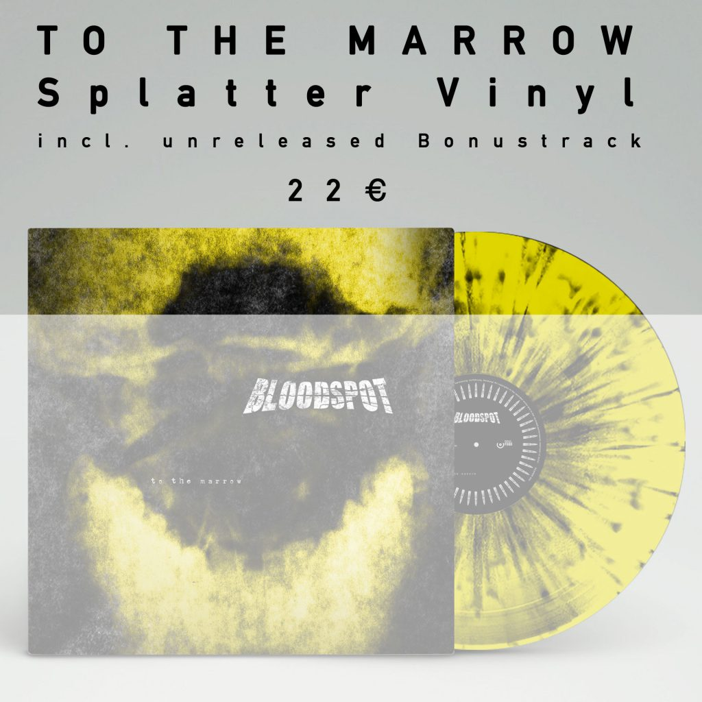 "To The Marrow Splatter-Vinyl inklusive Bonustrack ""Vielfrass"" online kaufen. 