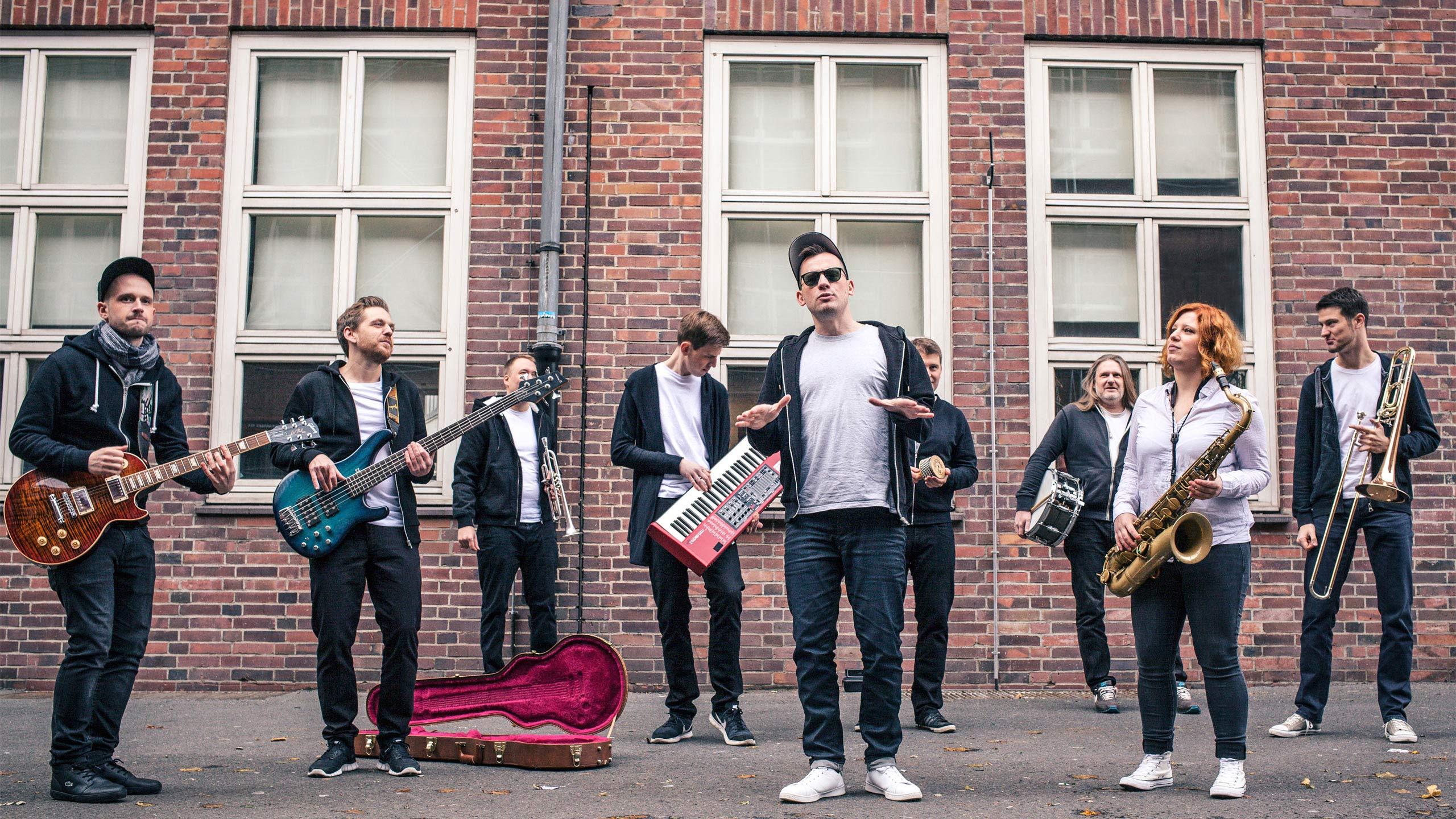 Berlin Boom Orchestra steht für urbanen Reggae jenseits des gängigen Klischees vom tiefenentspannten Feel-Good-Gedudel. © Berlin Boom Orchestra