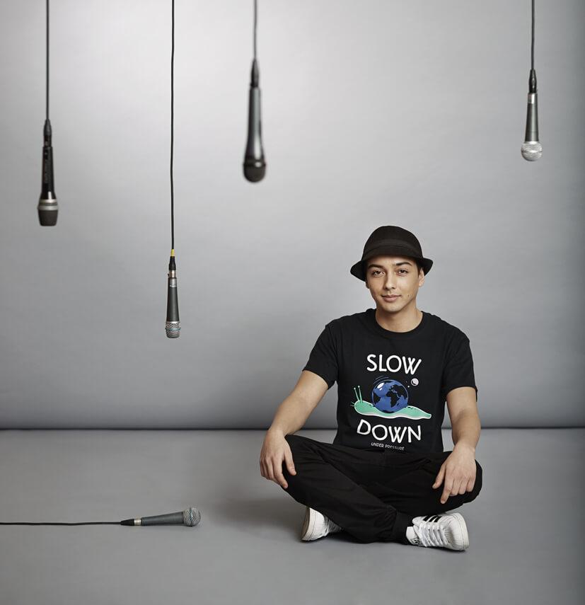 Robeat begeistert Jung und Alt und hebt Musikalität und Entertainment mit seiner Show auf ein neues Level. © Robeat