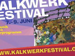 Das 39. Kalkwerk Festival findet dieses Jahr vom 7. bis zum 9. Juni im alten Kalkwerk zwischen Limburg und Diez statt. Grafik: Neues Limburg aus Festivalprogramm